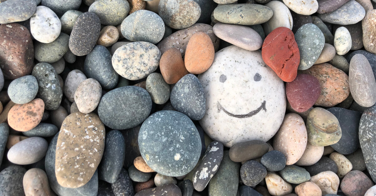 An image to demonstrate the concept of how to be positive